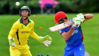 U-19 World Cup 2018: Australia thrash Afghanistan by 6 wickets to reach final