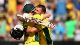 Australia vs England, ICC Cricket World Cup 2015 Match 2