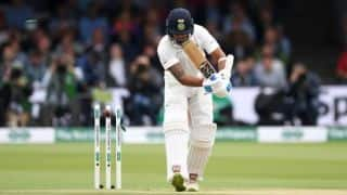 India vs England, 2nd Test: Rain forces early lunch; India 11/2