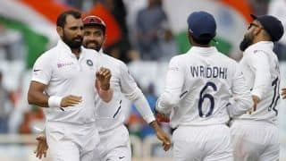 3rd Test: Shami, Umesh bring India on brink of clean sweep