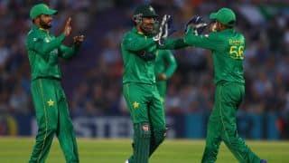 Sarfraz Ahmed's hundred takes Pakistan to 251 in 2nd ODI vs England