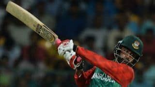 Tamim's half-century meanders BAN to 265 against AFG