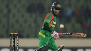 Asia Cup 2014 India vs Bangladesh: Mushfiqur Rahman scores ton; 242/5 in 46 overs