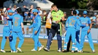 In Pictures: Ireland vs India, 2nd T20I