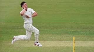 India A suffer batting collapse, set a target of 159