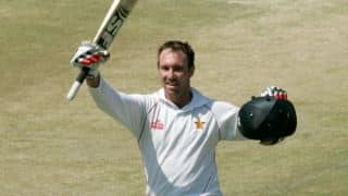 Zimbabwe vs South Africa one-off Test at Harare: Brendan Taylor reaches his half century