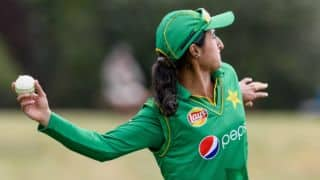 ICC Women's World Cup 2017, warm-up: Nain Abidi, Bismah Maroof's fifties sail Pakistan to 5-wicket win against West Indies