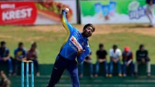 Sri Lanka spinner Akila Dananjaya reported for suspect bowling action