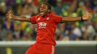 Chris Jordan takes Steve Finn's spot in England's Twenty20 squad against Australia