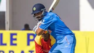 Ajinkya Rahane, Murali Vijay dismissed in India vs Zimbabwe, 1st T20I at Harare