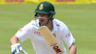 Stephen Cook completes 50 on debut during Day 1 of 4th South Africa vs England Test at Centurion