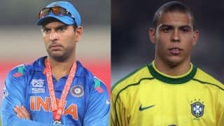 Yuvraj rekindles memories of Ronaldo's freeze