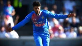 Kuldeep Yadav becomes first Indian to take T20I fifer in England