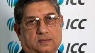 N Srinivasan promises grand ICC Cricket World Cup 2015