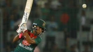Afif Hossain stars as Bangladesh survive a scare to beat Zimbabwe by three wickets