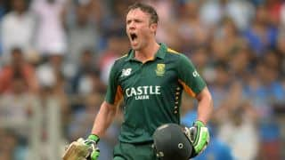 AB de Villiers wants to better his T20I record