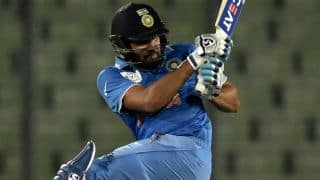India vs Pakistan, ICC T20 World Cup 2016: Rohit Sharma dismissed for 10 by Mohammad Aamer