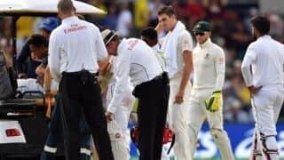 2nd Test, Day 2: Sri Lanka slip after Dimuth Karunaratne's injury scare