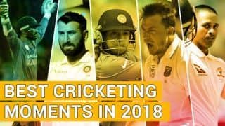 Year-ender 2018: Best cricketing moments