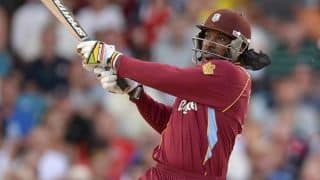 India vs West Indies, ICC World T20 2014: Gayle survives dropped chances; West Indies 46/1 in 10 overs