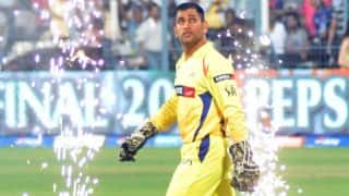 IPL 2018: MS Dhoni gets emotional as he speaks on return of Chennai Super Kings, Watch Video