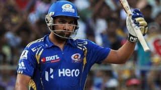 IPL 7: Mumbai Indians retain Rohit Sharma, Harbhajan Singh, Lasith Malinga, Kieron Pollard and Ambati Rayudu