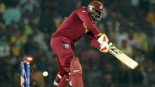 India vs West Indies Live: Chris Gayle dismissed for 5 by Jasprit Bumrah in T20 World Cup 2016 semi-final