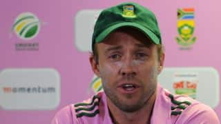 AB de Villiers unhappy with timing despite fastest ODI century