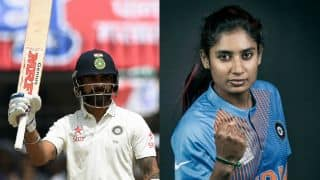 Virat Kohli, Mithali Raj to receive awards from BCCI