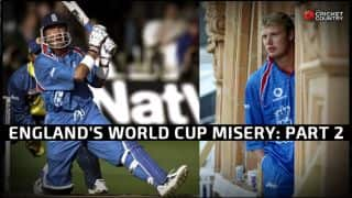 England and World Cup Cricket — the same old story: Part 2 of 5