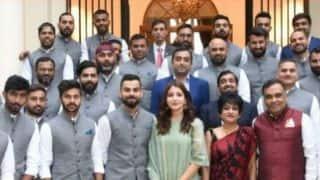 India vs England: Virat Kohli, Anushka Sharma trolled for London High commission dinner photo