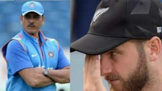 You have one hand on that WC, says Ravi Shastri on Kane Williamson calmness