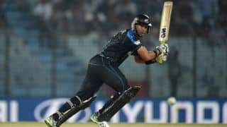 New Zealand beat West Indies by 12 runs via Duckworth Lewis Method in 1st T20I at Roseau