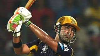 KKR off to flying start in chase of 155