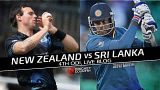 NZ 75/3 in 9 overs   Live Cricket Score, New Zealand vs Sri Lanka 2015-16, 4th ODI at Nelson: Match called off due to rain