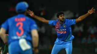 India bowlers restrict Bangladesh batsmen to 139/8 in 2nd T20I, Nidahas Trophy 2018