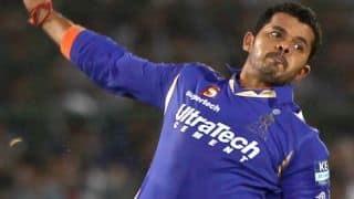 Sreesanth to play for a Kerala club despite BCCI ban