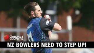 New Zealand bowlers have to get their act together against England