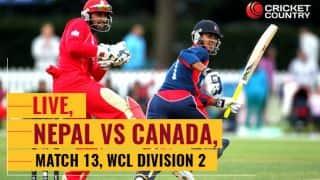 करन केसी, संदीप लाचिमाने की अर्धशतकीय साझेदारी की बदौलत नेपाल ने आईसीसी विश्व क्वालिफायर में जगह बनाई