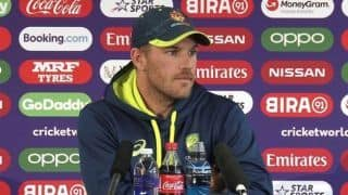 Australia won't let intensity drop in training despite injuries: Aaron Finch