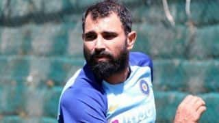team india fast bowler mohammed shami out for six weeks from cricket