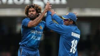 Live Cricket Score Sri Lanka vs Afghanistan ICC Cricket World Cup 2015, Pool A Match 12 at Dunedin, Sri Lanka 236/6 in 48.2 Overs: Sri Lanka win by four wickets