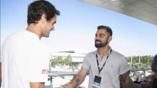 Virat Kohli: Meeting Roger Federer has been a great experience