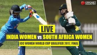 Live Cricket Score, IND v SA, ICC Women World Cup Qualifier 2017, Final; Lizelle goes for 37