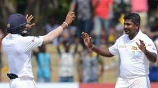 Herath joins Underwood (most 10WMs for left-arm bowlers)