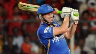 James Faulkner, Brad Hodge in late charge for Rajasthan Royals against Mumbai Indians in IPL 2014