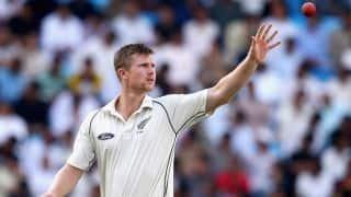 India v New Zealand: Jimmy Neesham ruled out of Kanpur Test