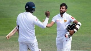 Kusal Mendis and Anglelo Mathews in second best fourth-wicket stand for Sri Lanka