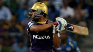 Gautam Gambhir, Manish Pandey in control of run-chase for Kolkata Knight Riders against Kings XI Punjab in IPL 2014