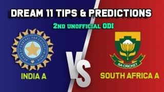 Dream11 Team India A vs South Africa A, IN-A vs SA-A ODI – Cricket Prediction Tips For Today's match IN-A vs SA-A at Thiruvananthapuram